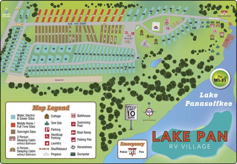 Lake Panasoffkee RV Park
